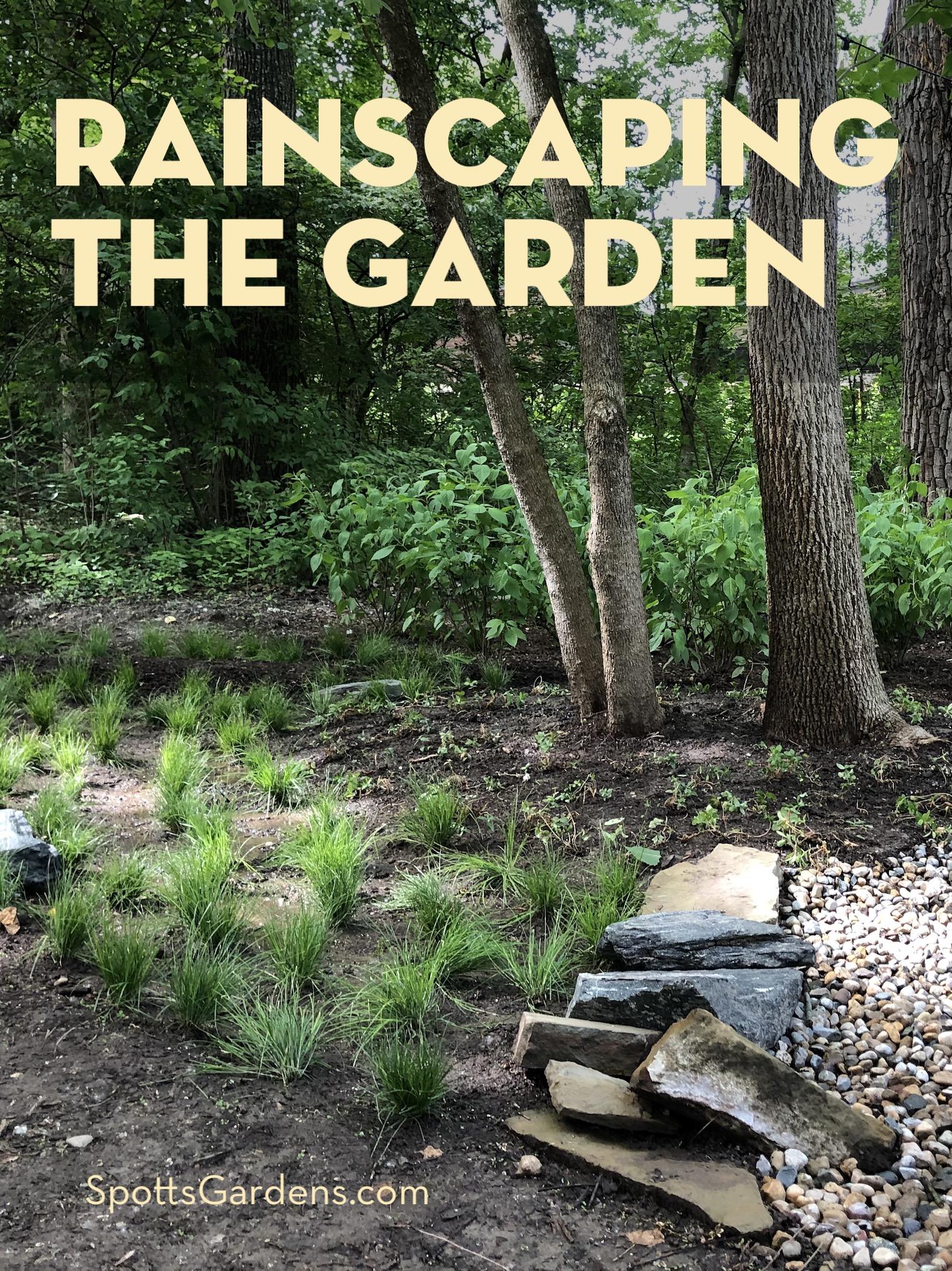 Rainscaping the Garden