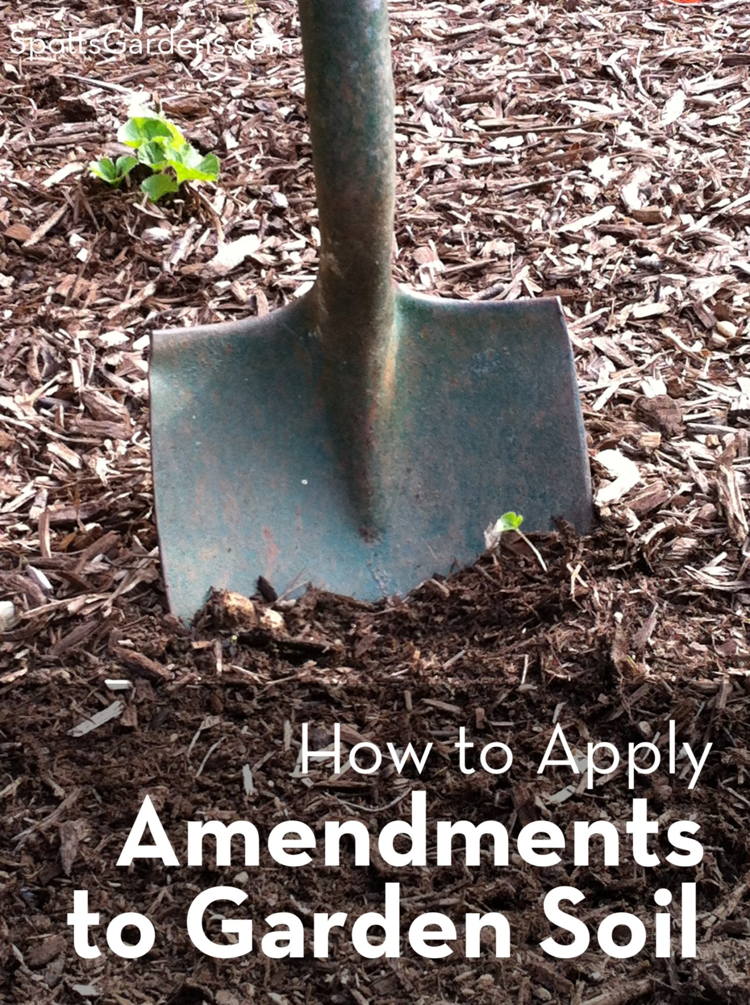 How to Apply Amendments to Garden Soil